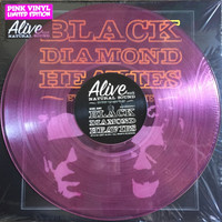 BLACK DIAMOND HEAVIES - Every Damn Time - CLEAR PINK! LTD ED of 200  Great punk-ass blues!   LP