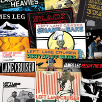 LEFT LANE CRUISER - 16 LP SUPERBUNDLE! with KING MUD, BLACK DIAMOND HEAVIES, JAMES LEG, PAINKILLERS
