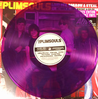 PLIMSOULS -- Live! Beg, Borrow & Steal (AMAZING 70s POWERPOP)  purple vinyl