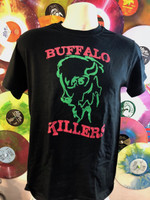 BUFFALO KILLERS -   Green and red logo T Shirts
