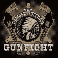PETERS , DUANE- Gunfight- digipack  PROMO CD