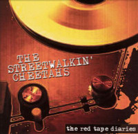 STREETWALKIN CHEETAHS - The Red Tape Diaries PROMO CD