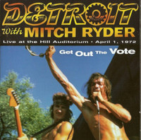 DETROIT- Get Out The Vote - With mitch Ryder SEALED ORIG 1997 PRESSING. -LP