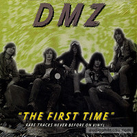 DMZ - The First Time- Live demos 76'  (Boston garage psych legends)cover design by Greg Shaw 10""