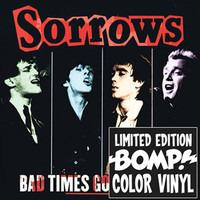 SORROWS - Bad Times Good Times (1977 power pop gems ) RED VINYL LP