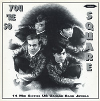 YOU'RE SO SQUARE  - VA (mid 60's USA garage band jewels ) IMPORT -  COMPLP