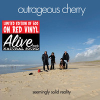 OUTRAGEOUS CHERRY - Seemingly Solid Reality- MOTOR CITY glam/psych) LAST FEW! RED ViNYL LP