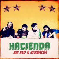 HACIENDA  -  Big Red and Barbacoa - prod by Dan of Black Keys -60s style pop  Ltd ed YELLOW  vinyl -   LP