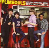 PLIMSOULS - Live! Beg, Borrow & Steal (AMAZING 80s POWERPOP!!) CD