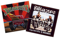 SILENCERS   BUNDLE - 2 cds for just $15 ! (60's style Detroit surf ala Link Wray, Ventures,Dick Dale fuzz guitar)
