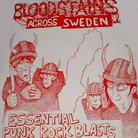 BLOODSTAINS ACROSS SWEDEN -The Viking Region- 18 Essential Punk Rock Blasts 1978 - 1980 COMP CD