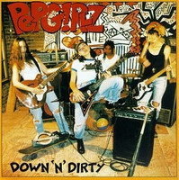 PEP GIRLZ -Down N Dirty  (ALL girl NY garage-trash HARDcore punk  CD