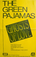 GREEN PAJAMAS  - Ghosts of Love -  POSTERS