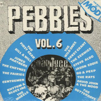 PEBBLES - Vol 06 - LAST COPIES!  BLUE VINYL -   COMPLP