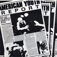 AMERICAN YOUTH REPORT - VA  LAST COPIES! Bad Religion, Channel 3, Adolescents, Lost Cause, Flesheaters, Descendents, T.S.O.L., Red Kross, Minutemen( L.A. 80s Punk) COMPCD