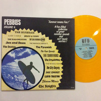 PEBBLES VOL #4- RARE 60's GARAGE - GOLD VINYL