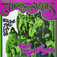 HIGHS IN THE MID 60's  Vol 02 - Riot on Sunset Strip SLIGHT  TWEAKED CORNER -LAST COPIES!COMPLP