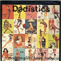DADISTICS -MODERN GIRL  (VOID 3 -ORIG PRESSING 70s power pop w girl singer pic slv ) 45 RPM
