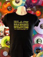 BLACK DIAMOND HEAVIES -Black with yellow- LAST ONES! (baby doll only)  T Shirt