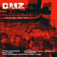 DMZ -Live at the Rat  (70s punk) BLACK VINYL LP