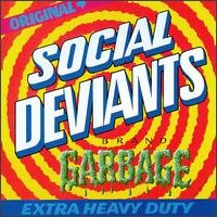"SOCIAL DEVIANTS/MICK FARREN -  10"" GARBAGE(Legendary 60s psych with Gary Grimshaw artwork)"