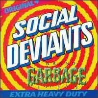 "SOCIAL DEVIANTS/MICK FARREN -  10"" GARBAGE(Legendary 60s psych with Gary Grimshaw artwork)"