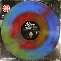 BLACK KEYS- Big COme Up -Their debut LP - NEW BLUE/RED/ORANGE STARBURST VINYL!