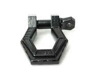 Black powder coated Monster Hook Reaper Shackle