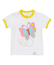 Butterfly White Shirt