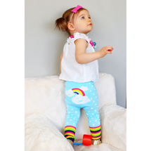 Rainbow Cloud Cotton Leggings
