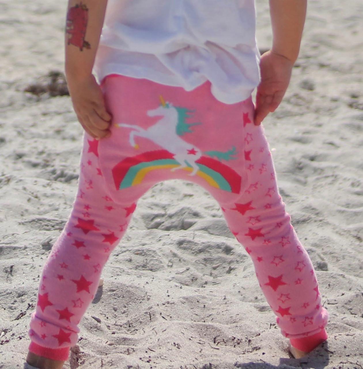 321e82d60051e Rainbow Unicorn Cotton Leggings   Doodle Pants