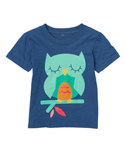 Navy Owl Shirt