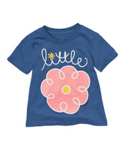 Flower Navy Shirt