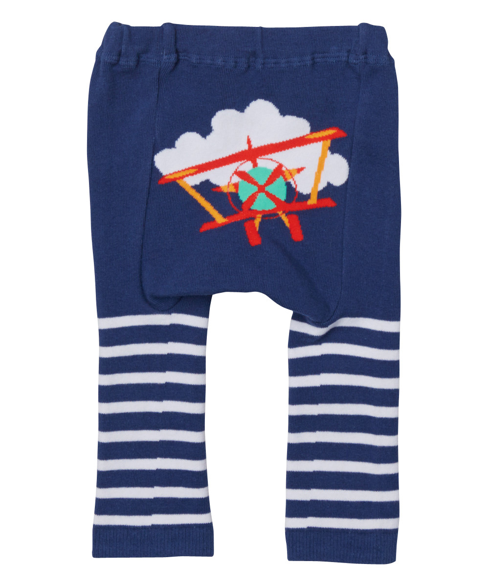 d602c418cd249d ... Red Airplane Stripes Cotton Leggings. Loading zoom