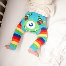 Rainbow Monster Cotton Leggings