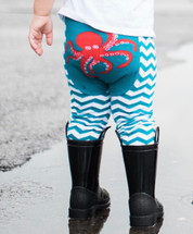 Octopus Cotton Leggings