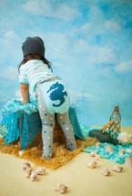 Seahorse Cotton Leggings