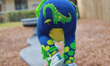 Dino Cotton Leggings