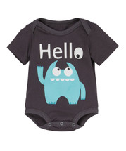 Blue Monster Bodysuit