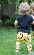 Spot on Golden Cheetah Leggings