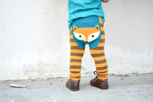 Woodland Fox Cotton Leggings