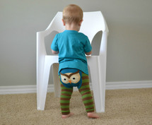 Woodland Owl Cotton Leggings