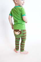 Woodland Hedgehog Cotton Leggings