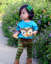 Woodland Owl Bodysuit