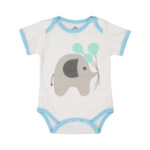 Blue Balloon Elephant Bodysuit