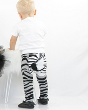 Zebra Tail Leggings