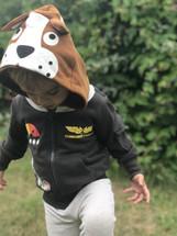 Commander Space Dog 3D Hoodie