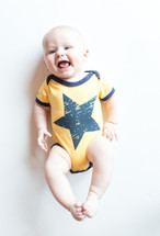 Yellow Star Bodysuit