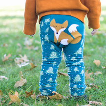 Winter Fox Cotton Leggings