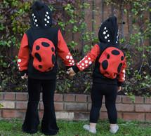 Ladybug 3D Hoodie